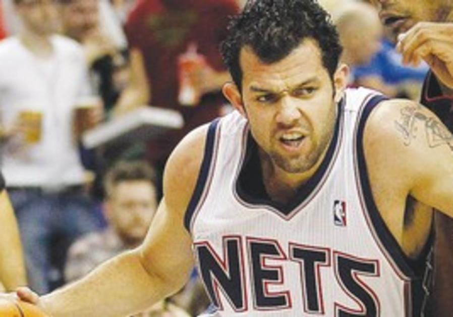 New Jersey Nets player Jordan Farmar.