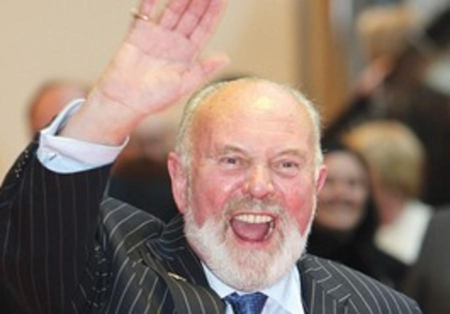 Irish Senator David Norris