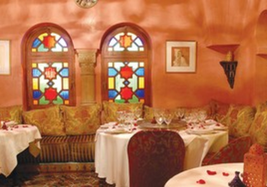 Authentic Moroccan food and atmosphere at Darna.