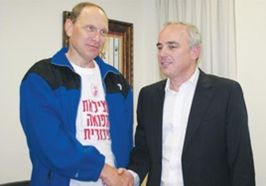 Dr. Leonid Eidelman and Yuval Steinitz