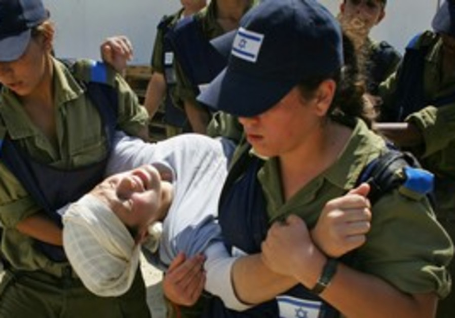 Gush Katif settlers are evacuated from Gaza