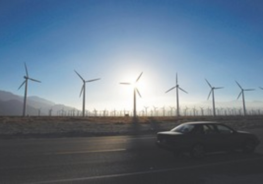 wind turbine generators in Desert Hot Springs, CA