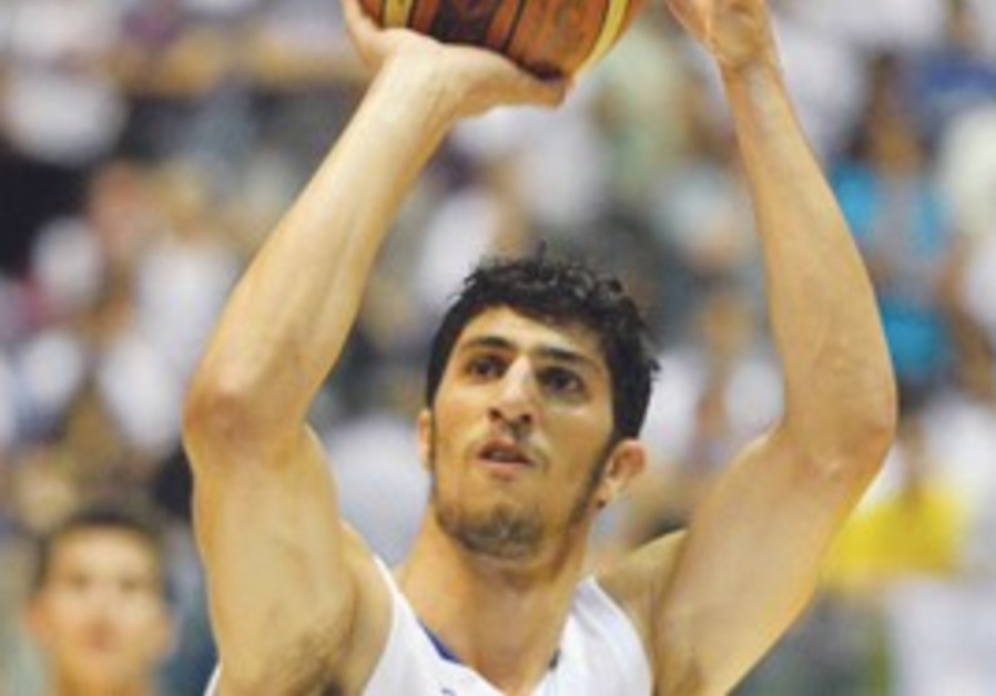 Lior Eliyahu on Israel National Basketball team