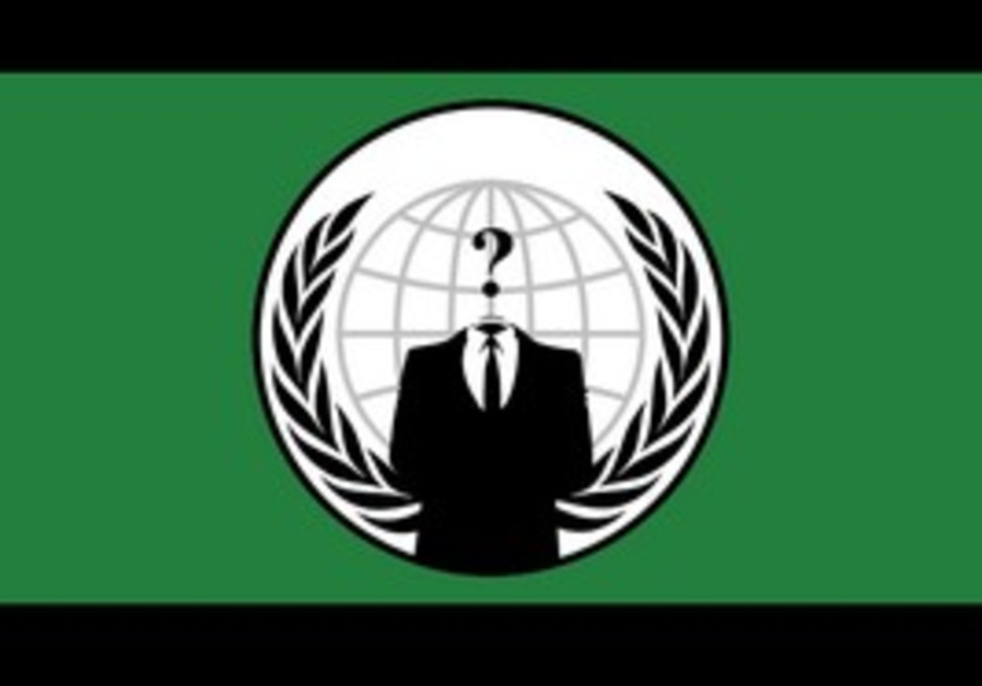 Anonymous hackers logo