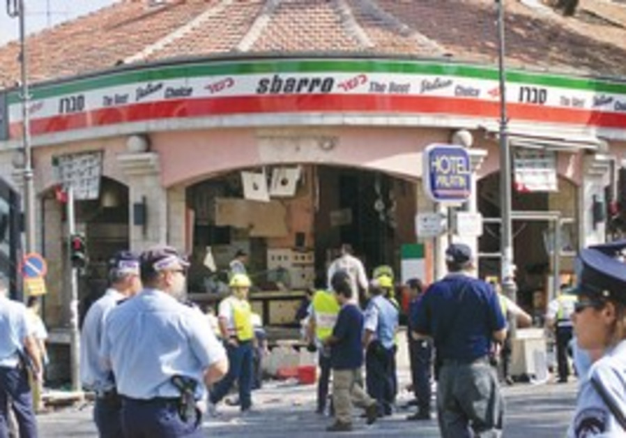 Sbarro Terror Attack in Jerusalem