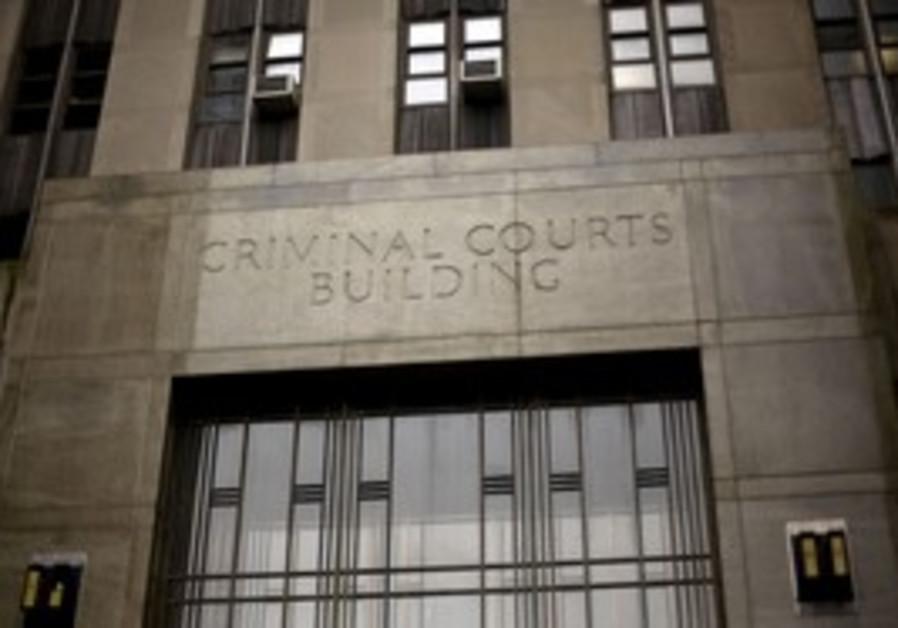 Manhattan criminial court in New York