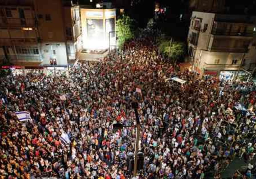300,000 protestors call for social justice