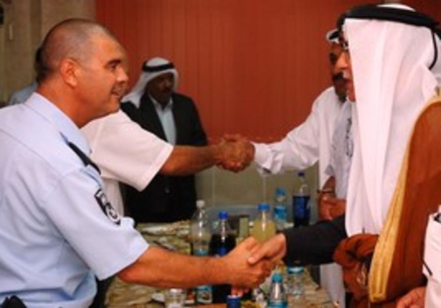 Police, Beduin Iftar in Negev