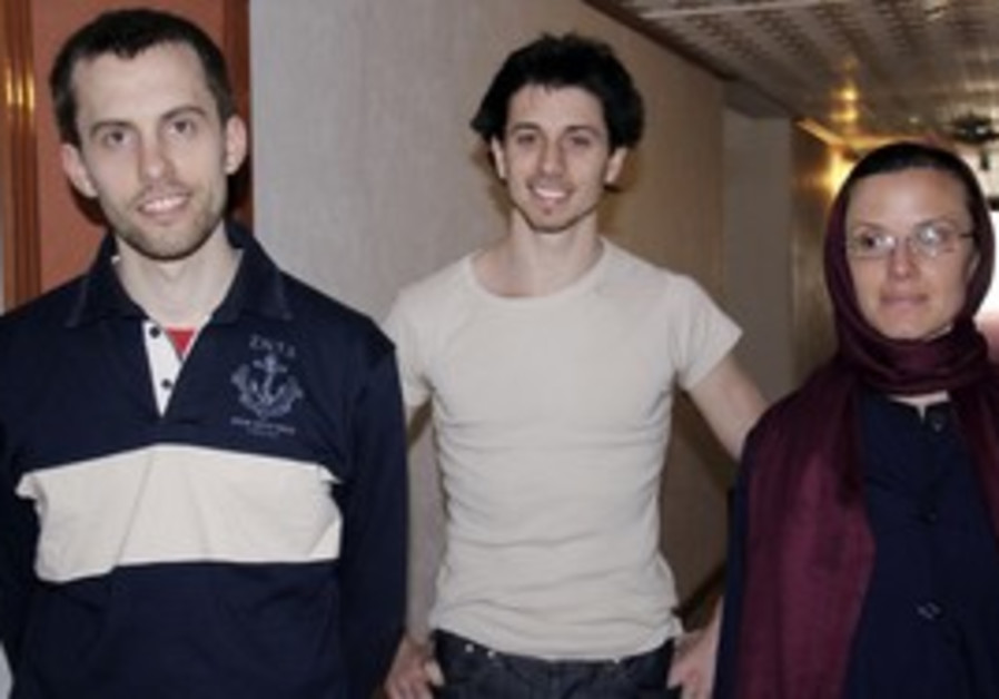 US hikers on trial for espionage in Iran.