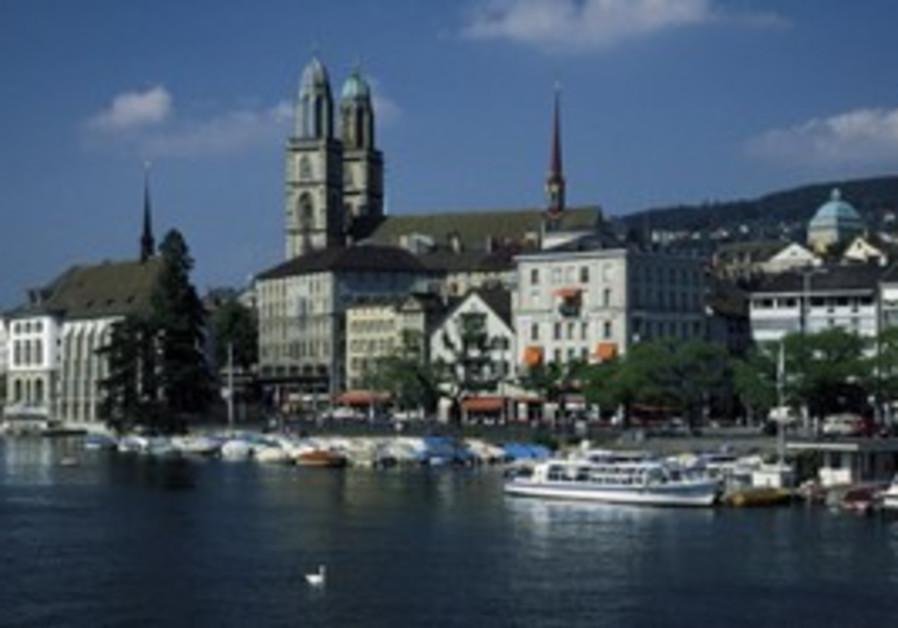 Grossmunster Cathedral in Zurich