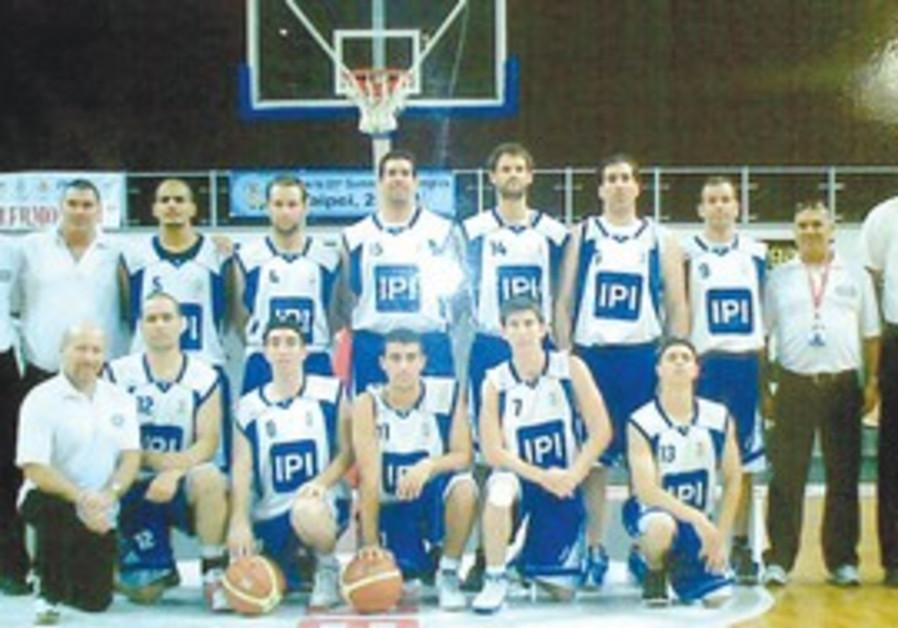 ISRAEL'S NATIONAL deaf basketball squad