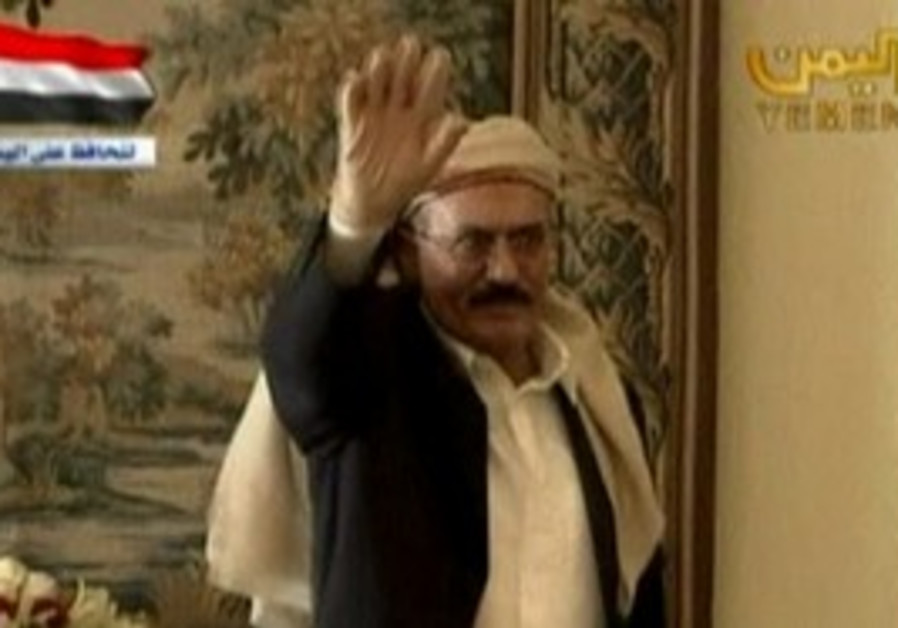 Saleh vows to return to Yemen.