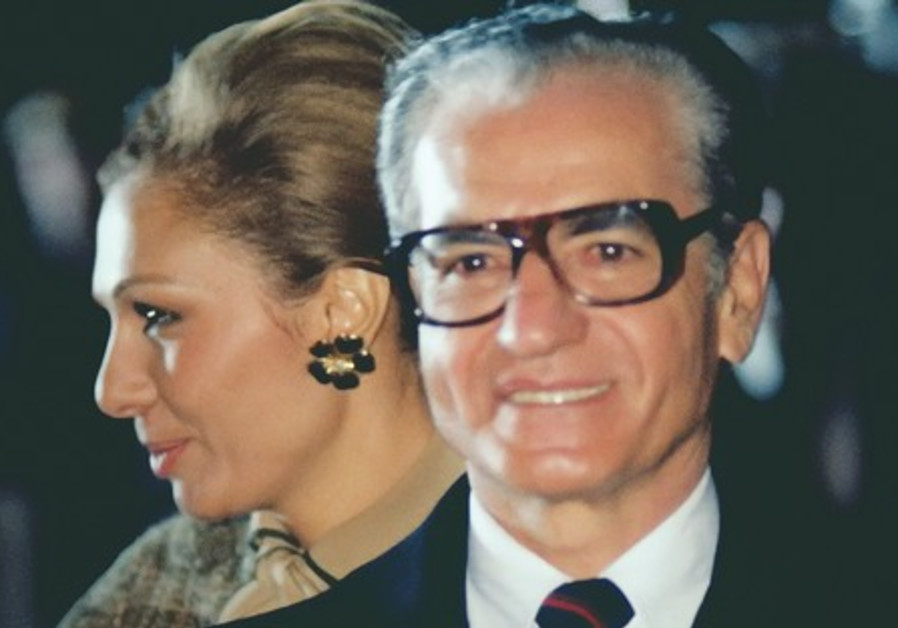 MOHAMMED REZA and his wife, Queen Farah