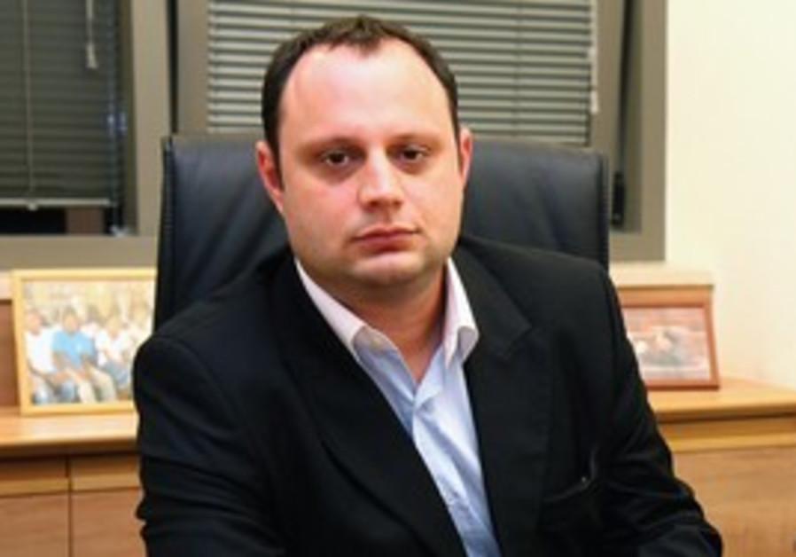Israel Beiteinu MK Alex Miller