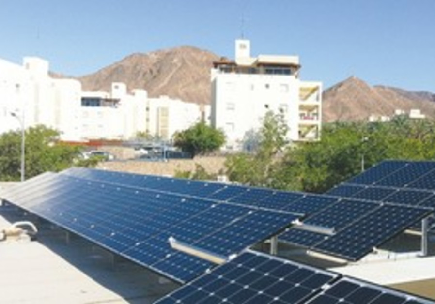 Solar Panels in Eilat