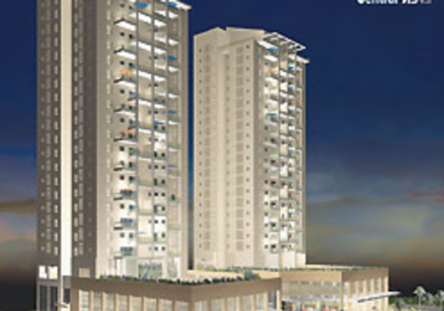 NEW RESIDENTIAL building project in Ness Ziona sch