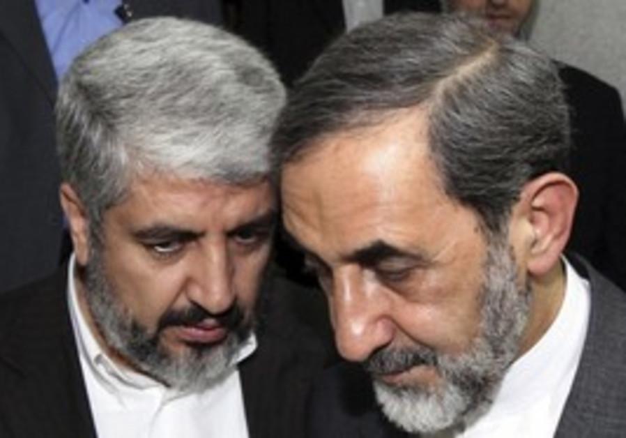 Hamas Mashaal and Khameini advisor Velayati