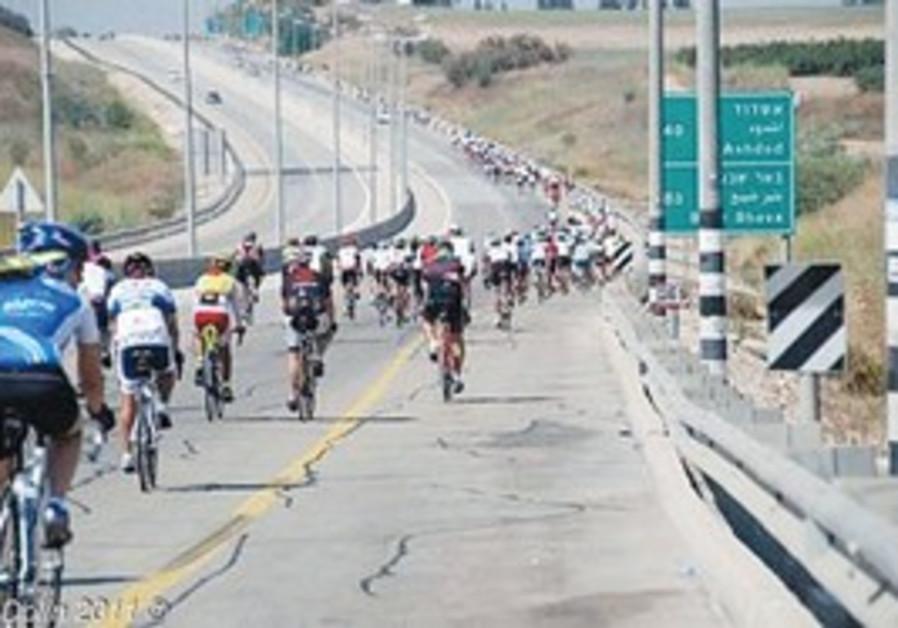 Memorial ride for Shalom Grossman and Yitzhak Simo