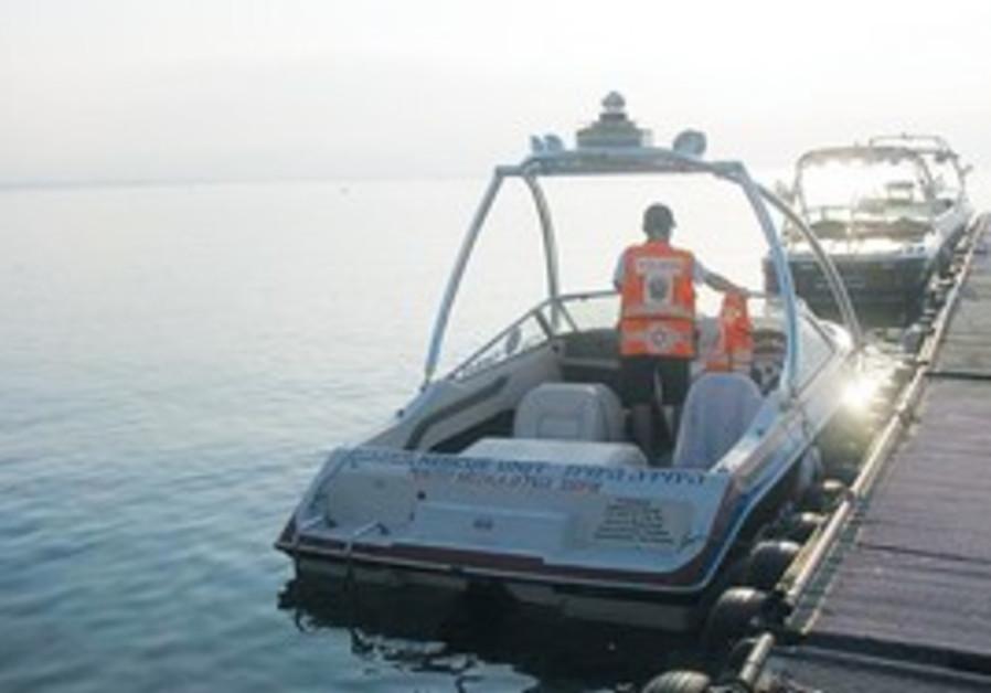 'Captain Berger II' rescue boat