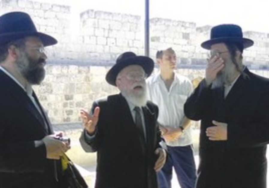 Rabbi Dov Lior on the Temple Mount