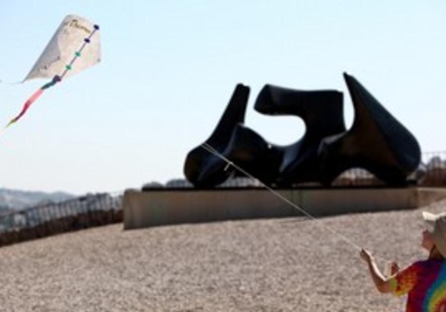 Jerusalem kite flying festival