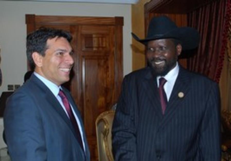 S. Sudan Salva Kiir and Danon