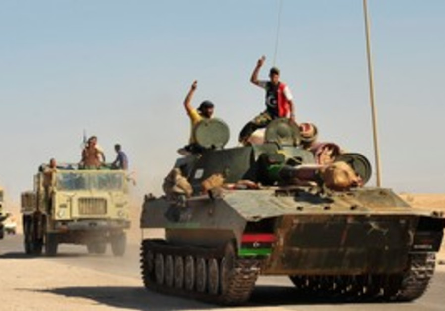 Libyan rebels celebrate continued gains