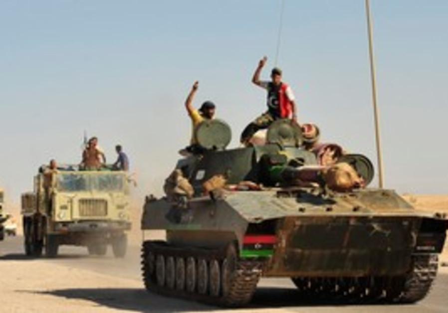 Libyan rebels celebrate continued gains