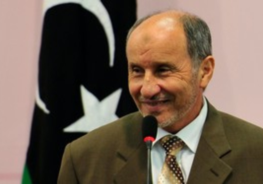 Mustafa Abdel Jalil, chairman of the Libyan NTC