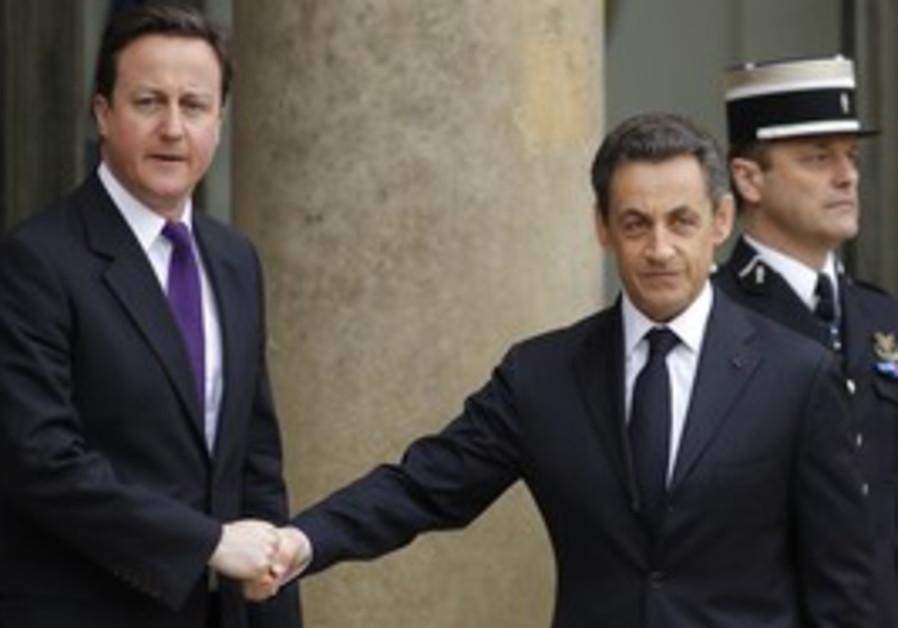 David Cameron and Nicolas Sarkozy