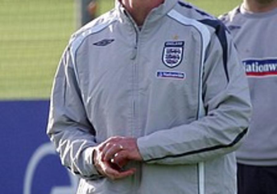 England soccer team's coach praises Israel