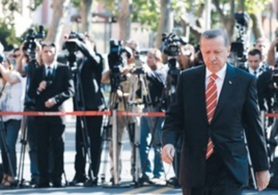 Turkish Prime Minister Erdogan.