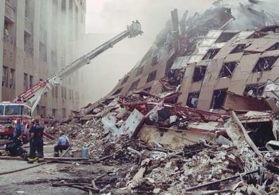 September 11th attack in Manhattan
