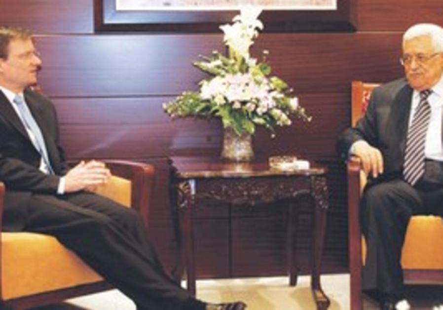 US ME envoy David Hale meets PA's Abbas