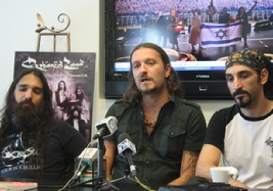 Israeli heavy metal band Orphaned Land