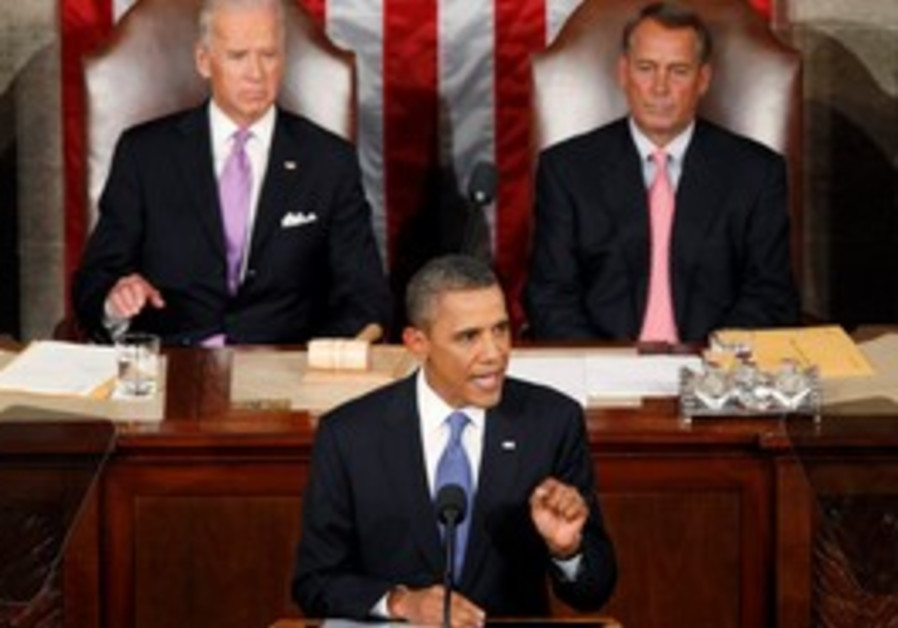 Obama addresses a joint session of Congress