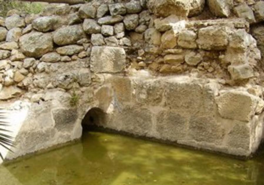 Ruins at Biblical Tamar