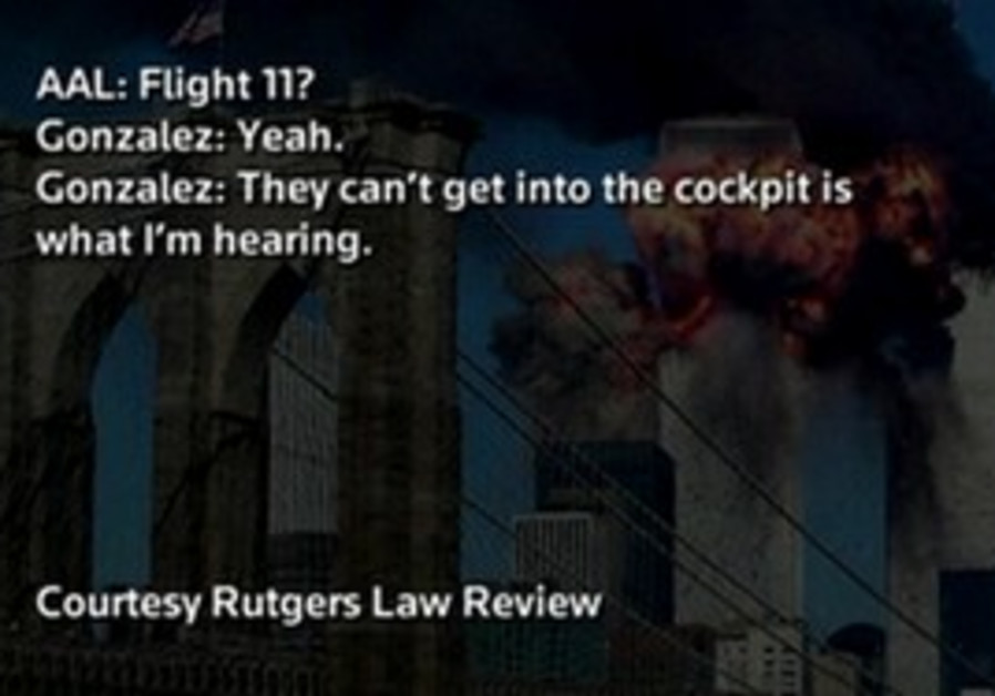 Recorded communications from September 11, 2001.