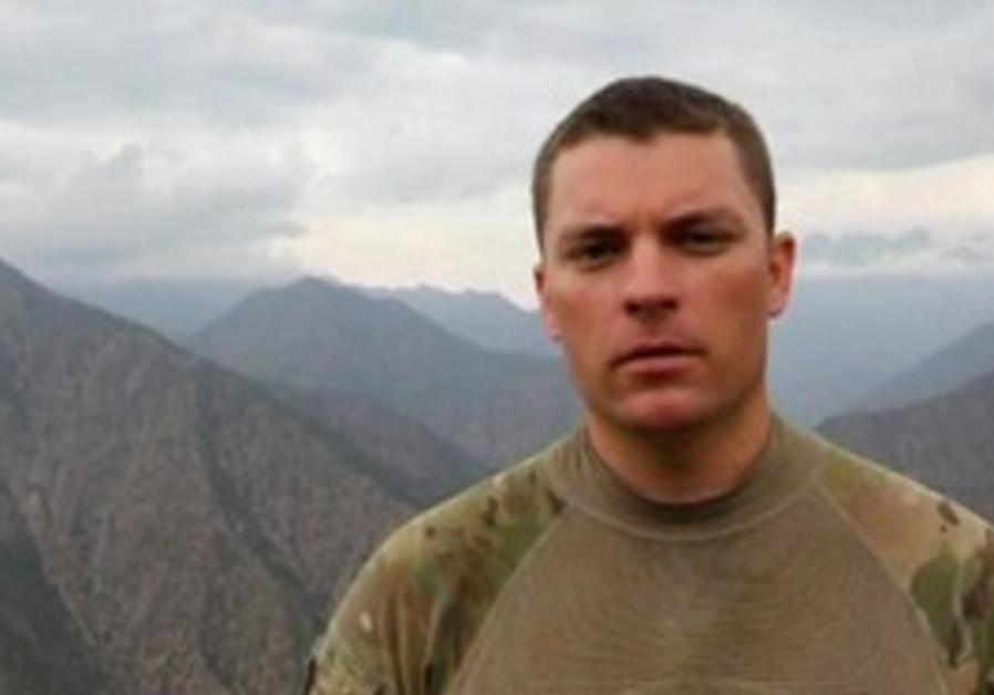 US soldier in Afghanistan.