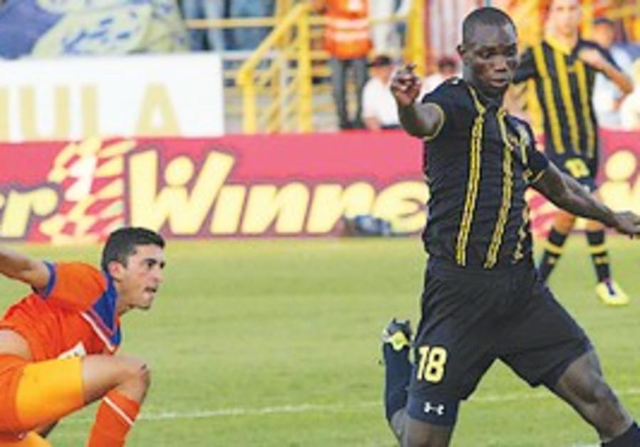 Maccabi Tel Aviv's Moussa Konate