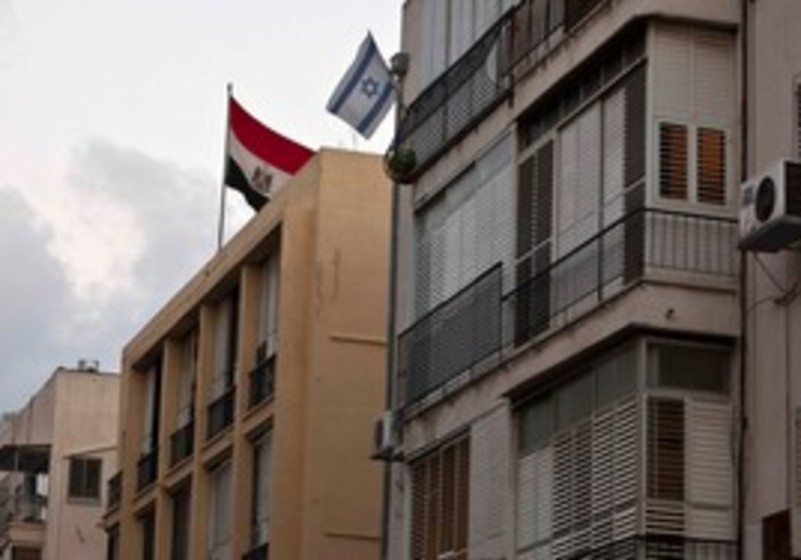 Egypt embassy in Tel Aviv