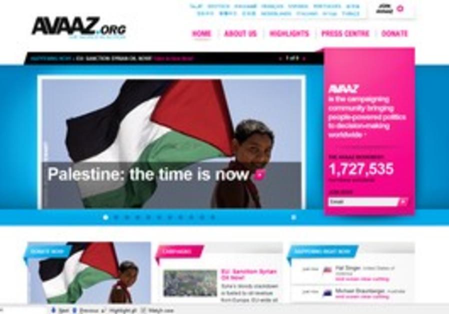 social protest platform Avaaz.org.