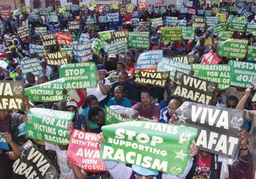 2001 Durban conference rally