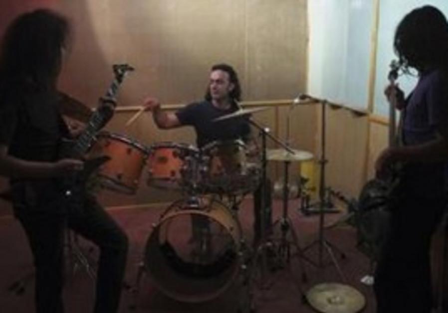 Persian rock band Angband.
