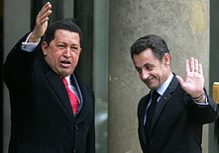 Chavez: Europe mustn't back US on Iran