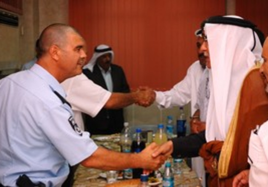 Police coordinate security with Arab leaders.