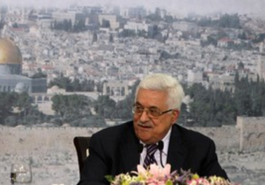 PA President Abbas speaking ahead of trip to UN