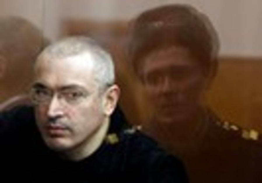 Jailed Russian former oil tycoon Mikhail Khodorkov