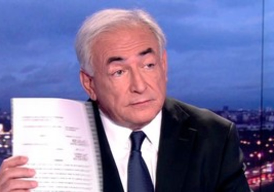 Dominique Strauss-Kahn appears on prime time show