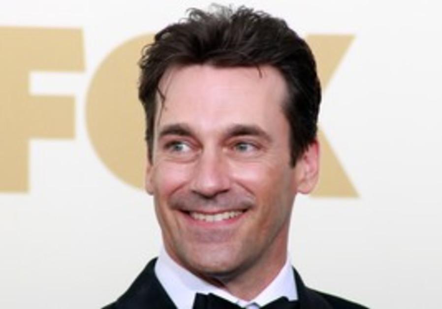 Mad Men's John Hamm at Emmy Awards
